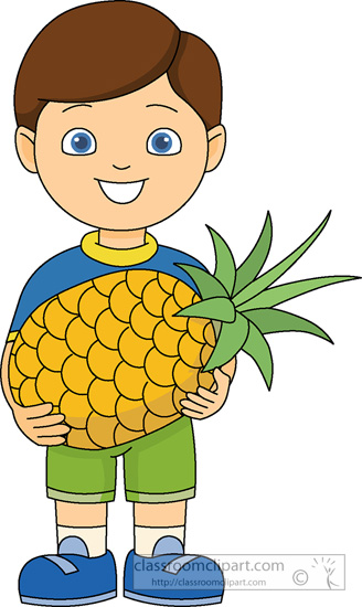 Kids pictures wikiclipart . Clipart pineapple kid