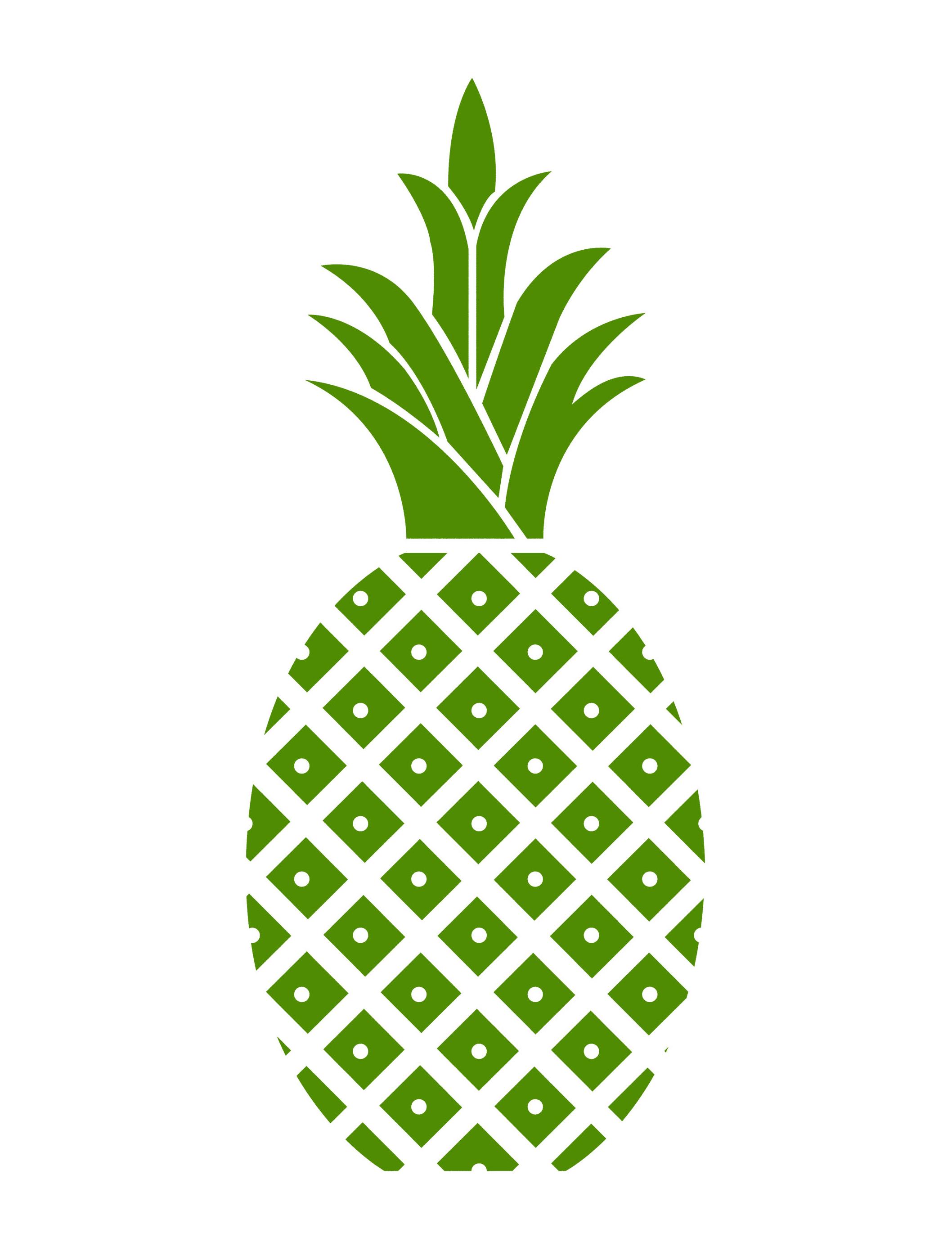 Pineapple clipart logo. Hospitality panda free images