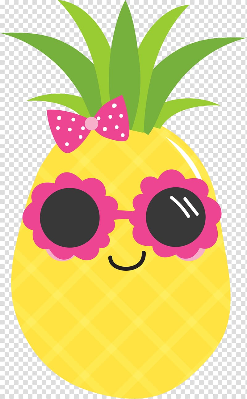 Yellow and green in. Clipart pineapple luau