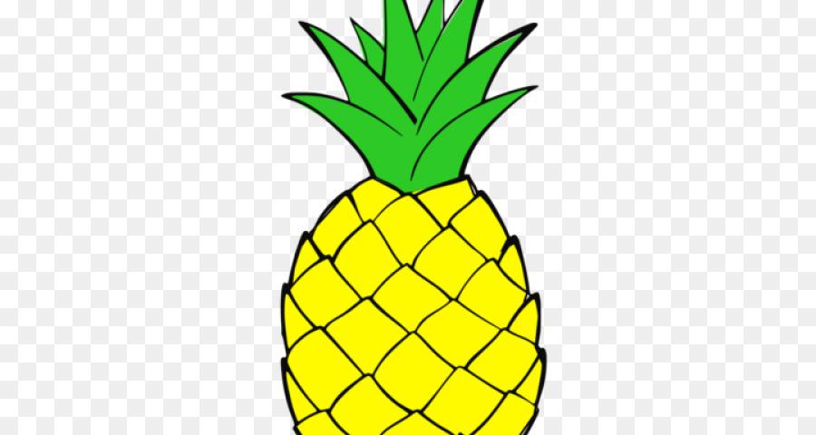 Black and white free. Clipart pineapple luau