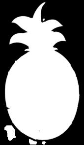 Clipart pineapple outline. Clip art panda free