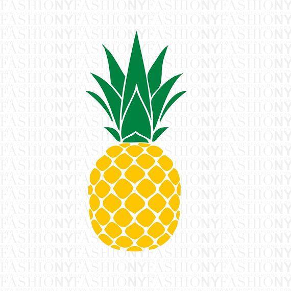Instant download svg monogram. Clipart pineapple pdf