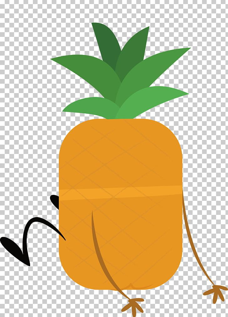 Clipart pineapple person. Drawing png bromeliaceae cartoon