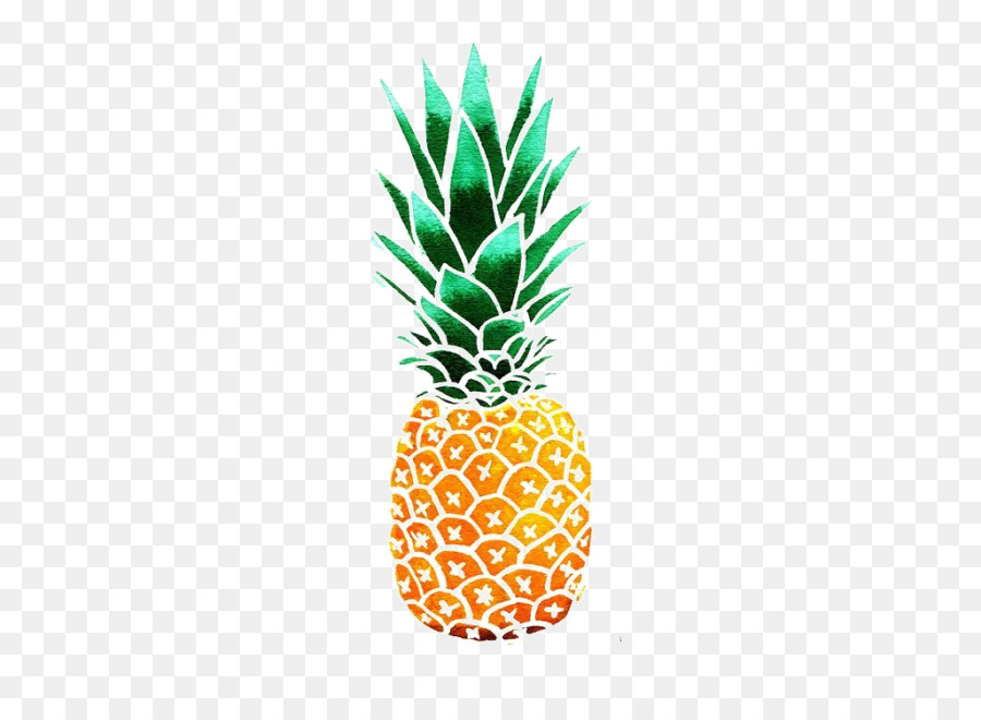 Cartoon ananas fruit . Clipart pineapple pineaplle