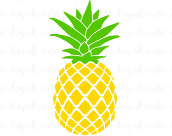 Clipart pineapple pineaplle. Black and white free