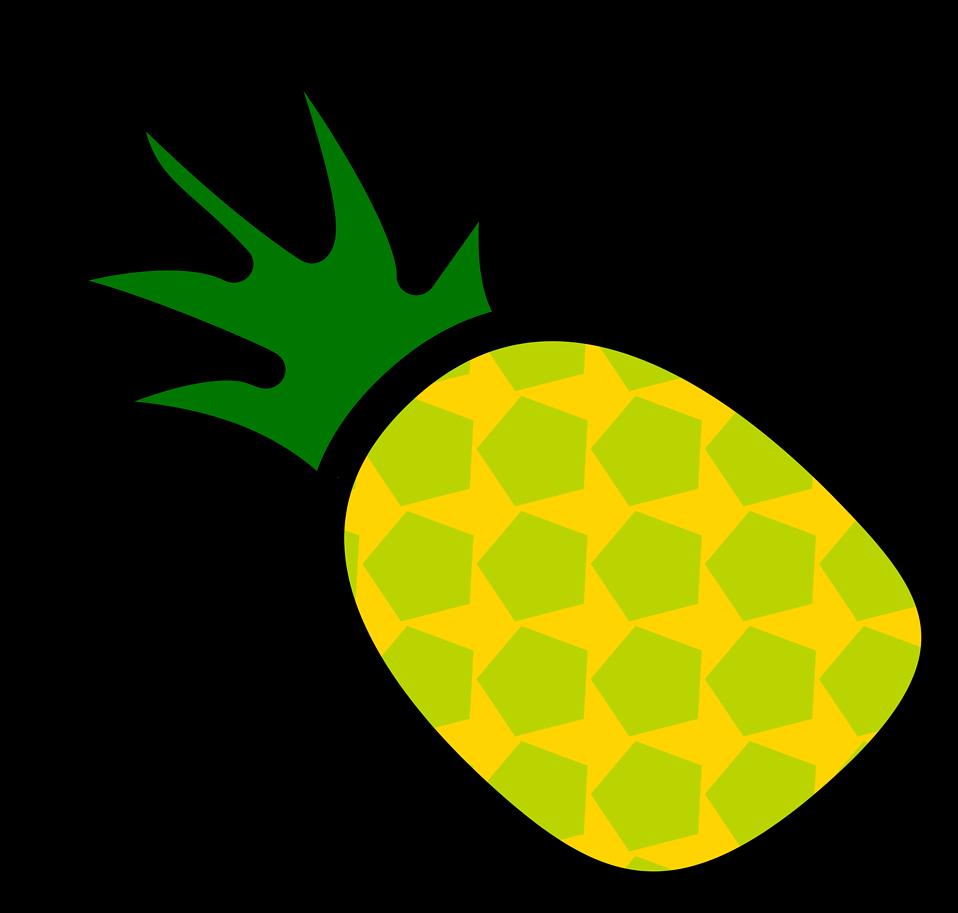 Free stock photo illustration. Clipart pineapple pineapple slice