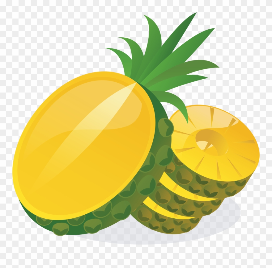 Slices png download . Pineapple clipart pineapple slice