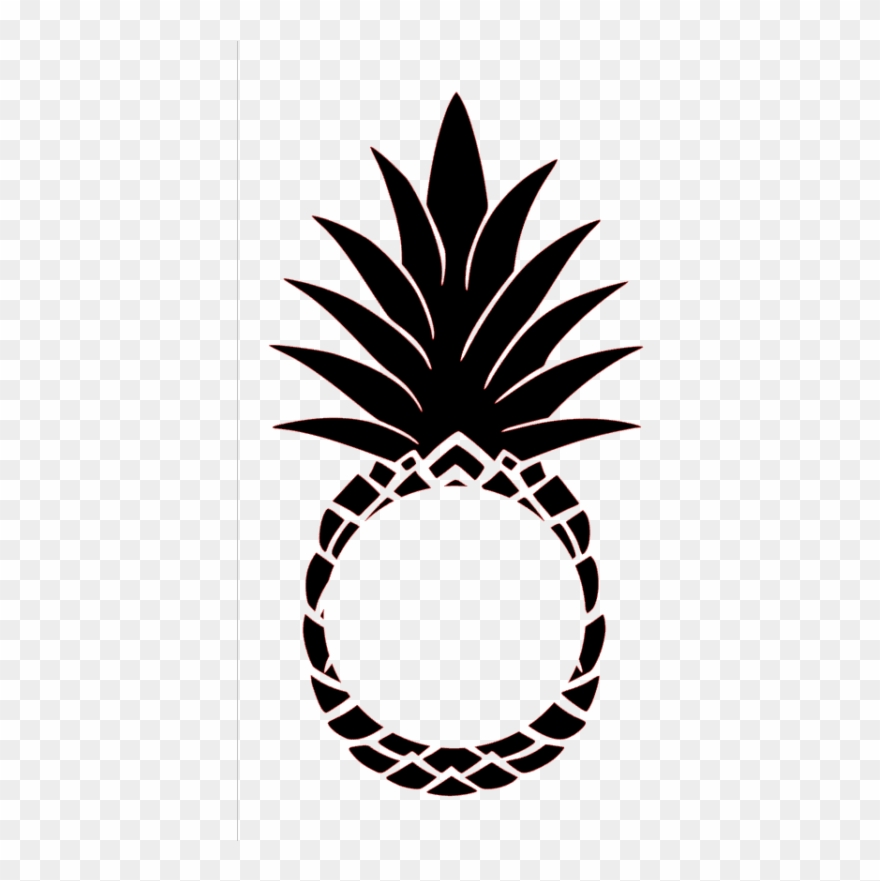 Pinclipart . Pineapple clipart rose gold