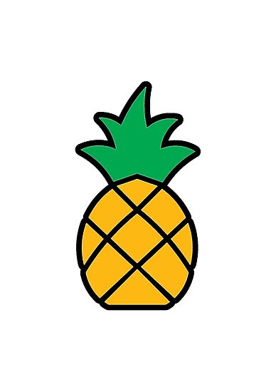 Clipart pineapple simple. Free download clip art