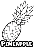 Clipart pineapple sketch. Drawing clip art cheap