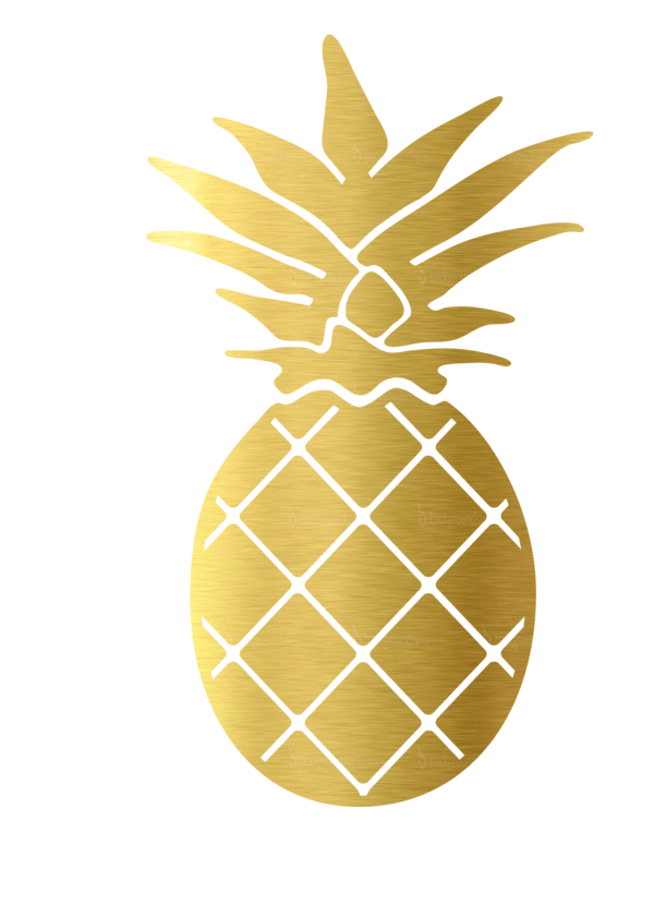 Decal palmetto moon online. Clipart pineapple sticker