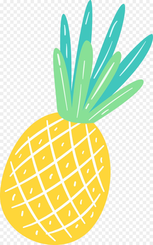 Hawaiian clipart yellow food. Summer hawaii pineapple ananas