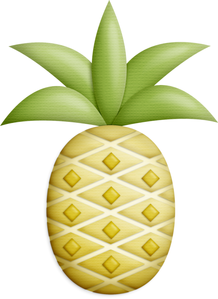 Fish png and album. Pineapple clipart summer
