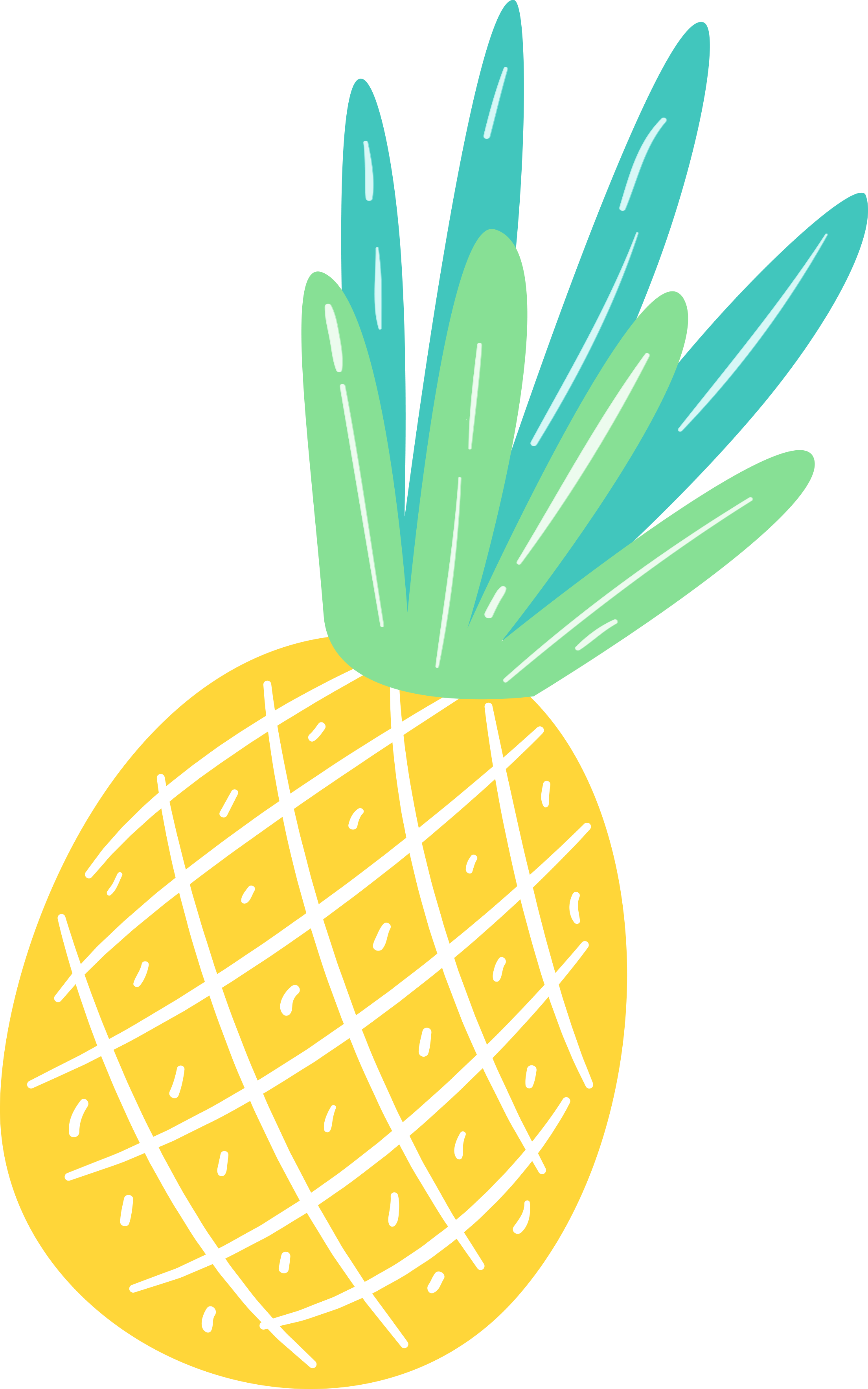 Pineapple clipart summer. Free fun pretty things