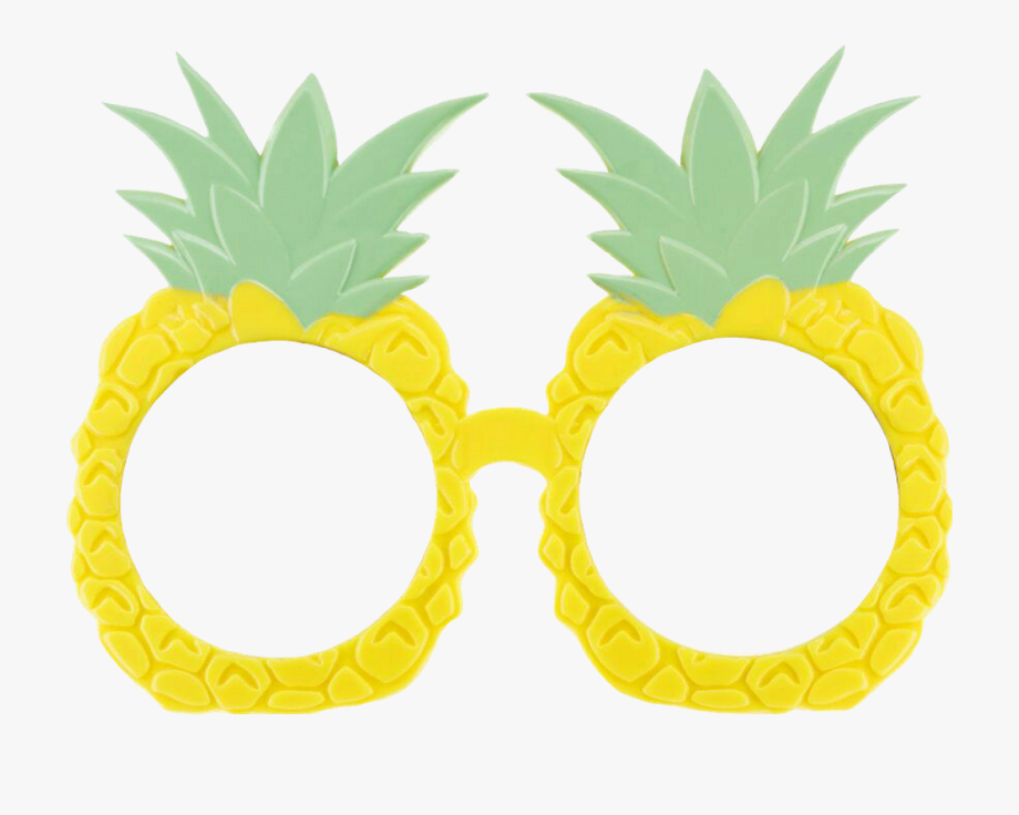 Summertime pineapples sticker by. Clipart pineapple sunglasses