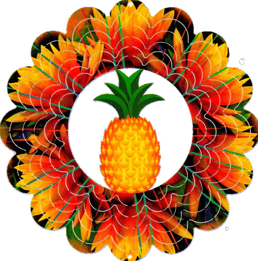 Eycatchers. Clipart pineapple symmetrical
