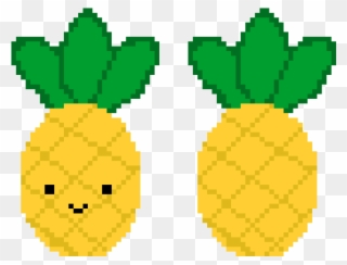 Pixel pinclipart . Pineapple clipart symmetrical