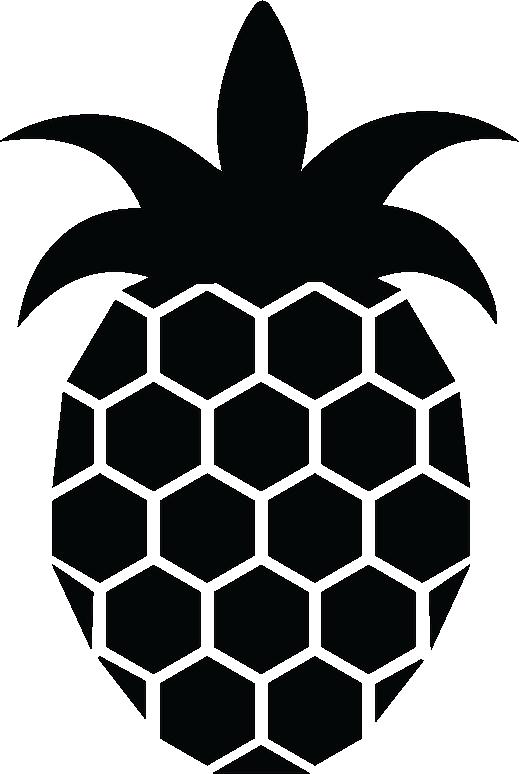 Matthew arianna . Pineapple clipart symmetrical