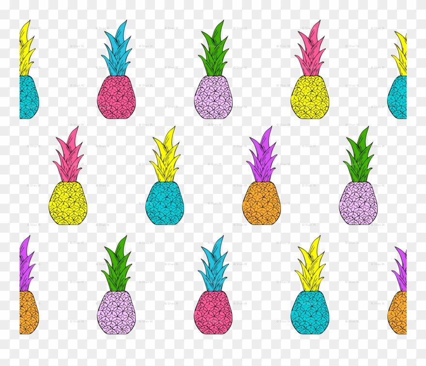 Clipart pineapple symmetrical. Clip art png