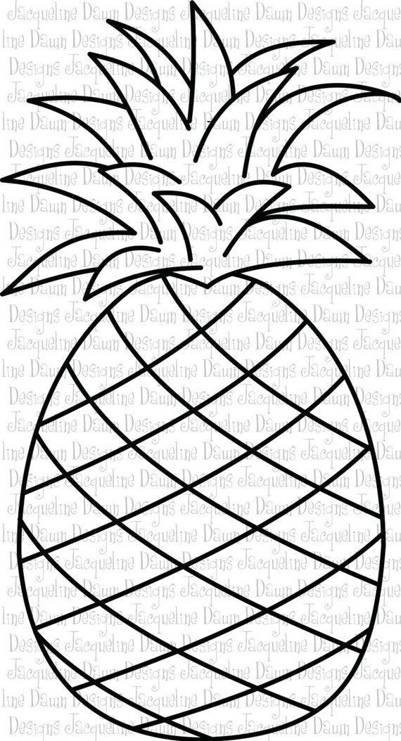 Pineapple clipart template. Coloring grapecoloring strawberrycoloring
