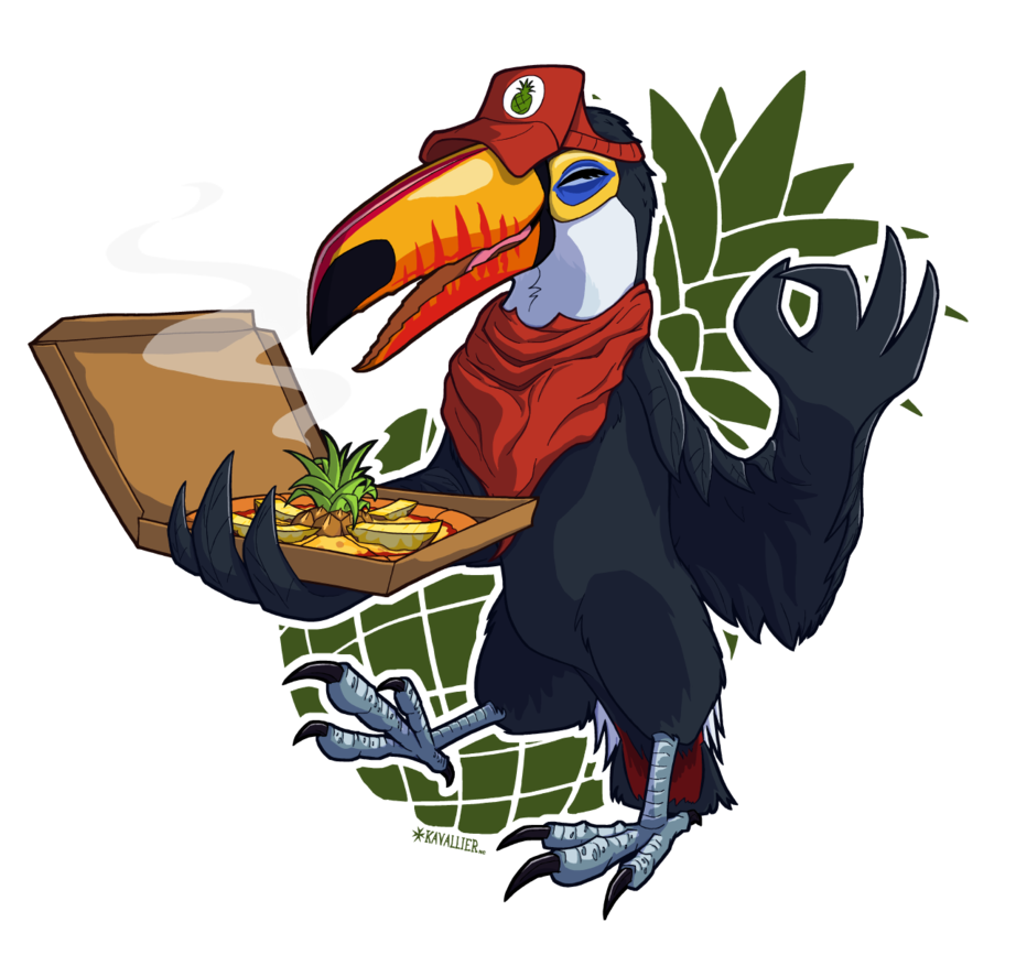 Delivery by kavalliernc on. Pineapple clipart toucan