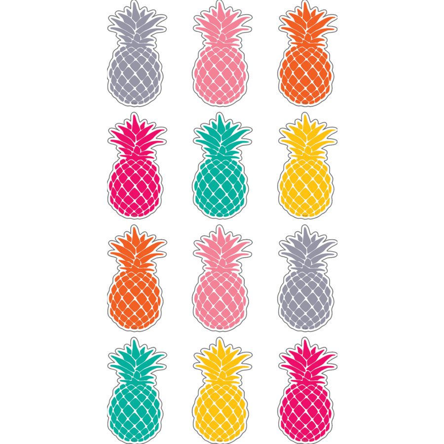 Tcr punch pineapples mini. Pineapple clipart tropical