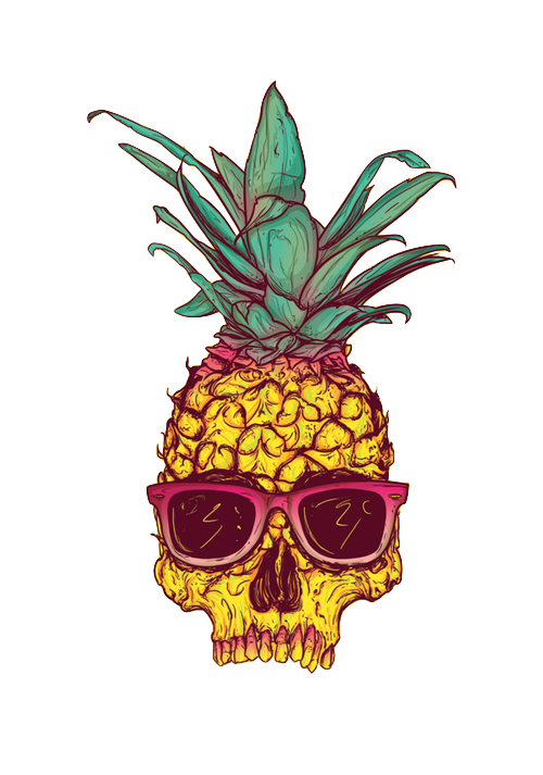 Shh . Pineapple clipart tumbler