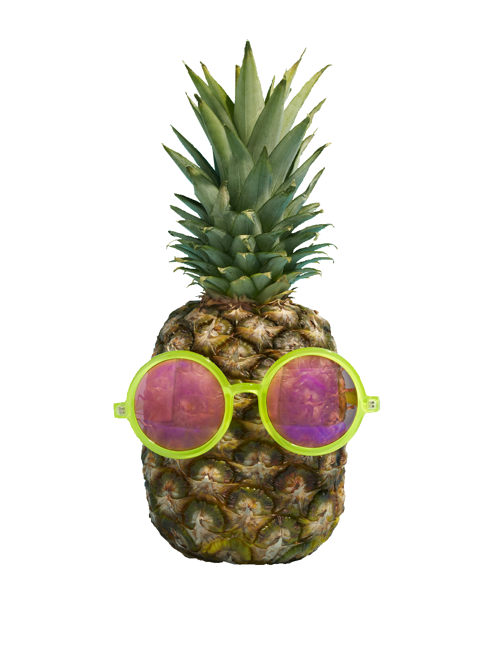 beauty with sunglasses. Pineapple clipart tumbler