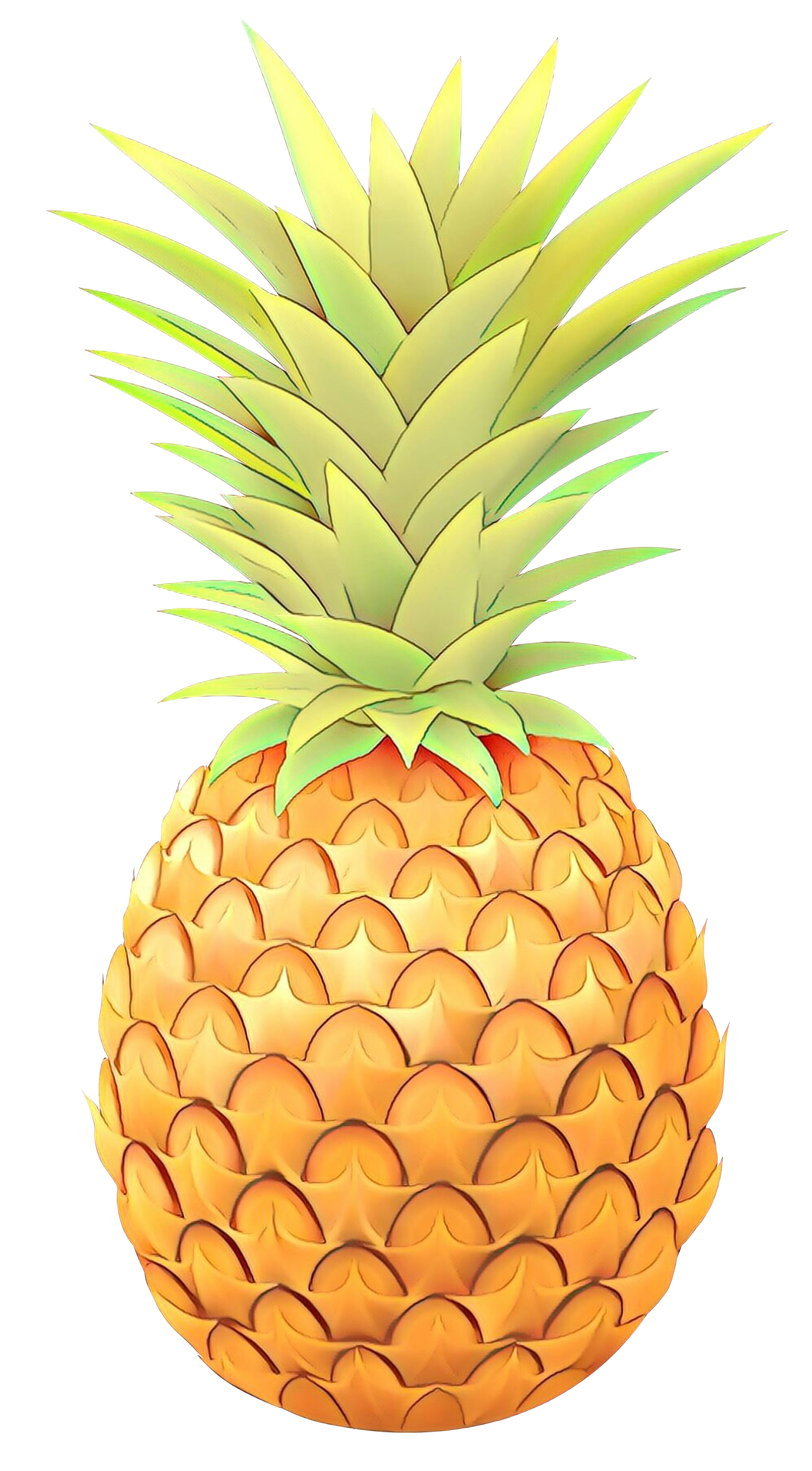 Pineapple clipart vector. Portable network graphics clip