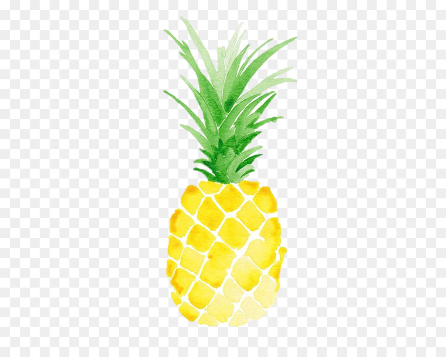Pineapple clipart watercolor. Paper ananas food