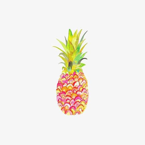 Clipart pineapple watercolor. A r t in