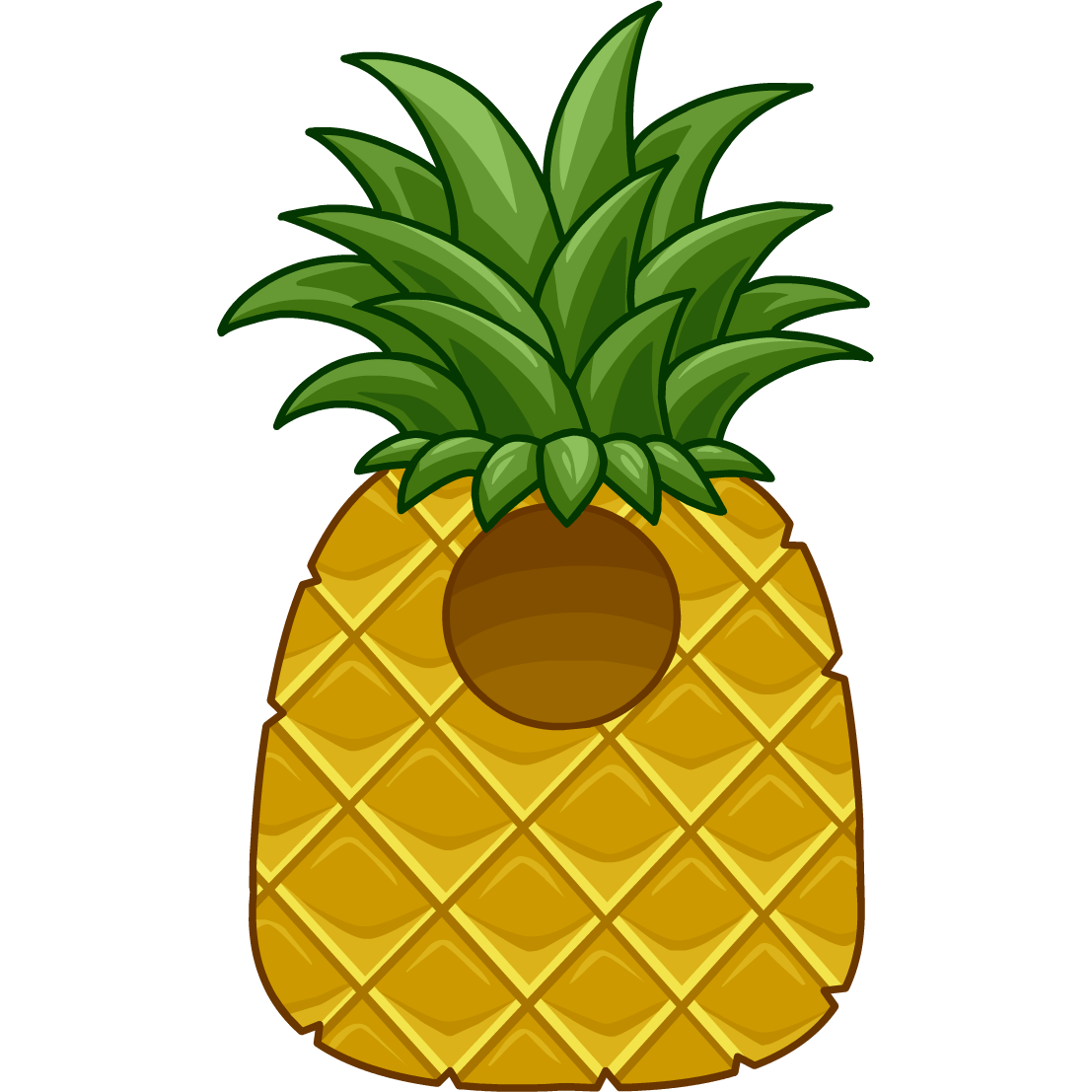 Costume club penguin wiki. Pineapple clipart character