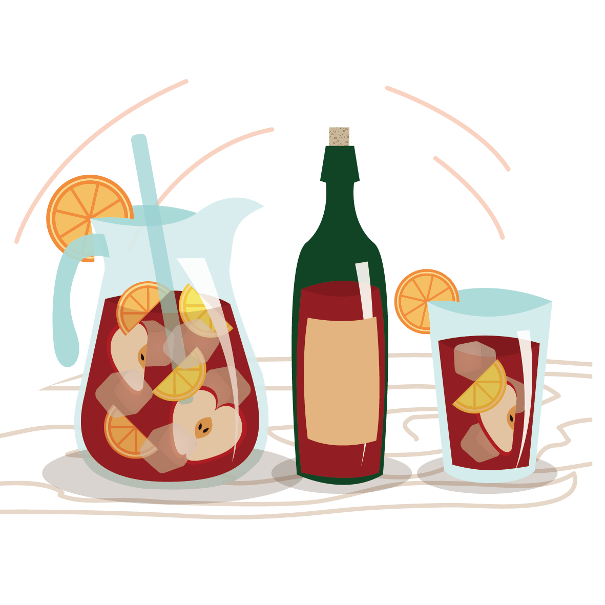 Red juice drink clip. Pineapple clipart wine
