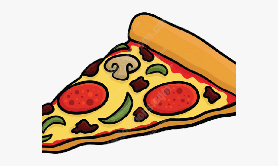 Pizza clipart sliced pizza. Slice cartoon transparent