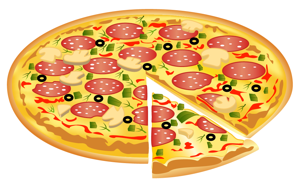 Png image gallery yopriceville. Food clipart pizza
