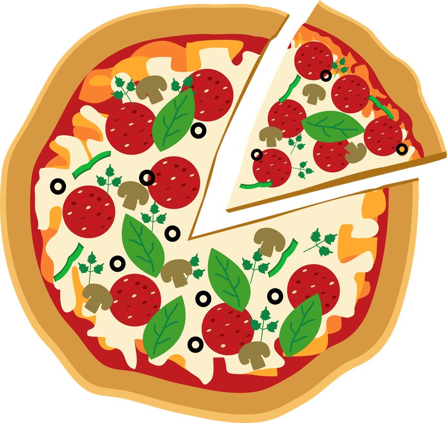 Clipart pizza. Luh happy s profile