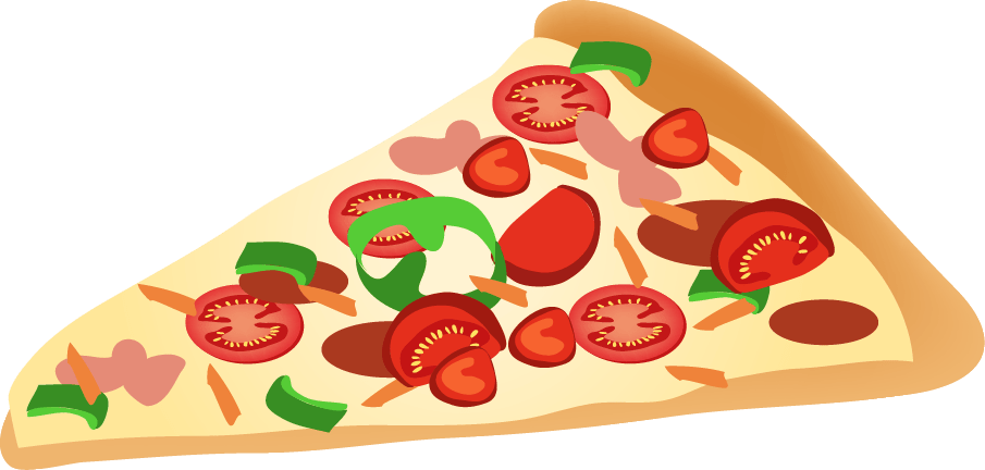Clipart pizza. Slice transparent png stickpng