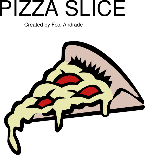 Pizza clipart pizza slice. Pepperoni clip art at