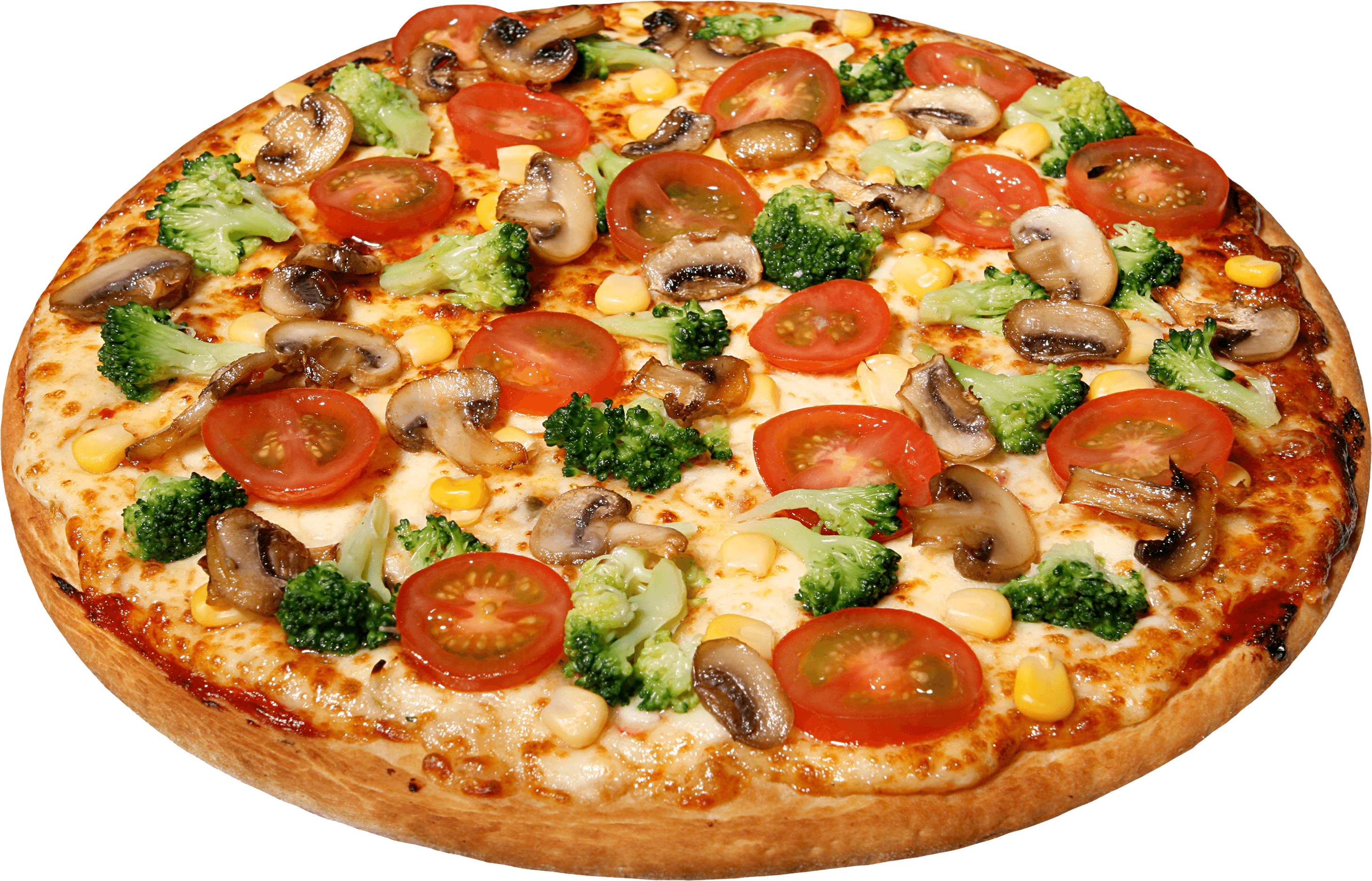 Italian clipart peperoni pizza. Large with tomatoes transparent