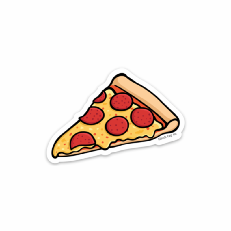 Pepperoni sticker cheese . Italian clipart peperoni pizza