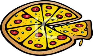 Party panda free images. Clipart pizza