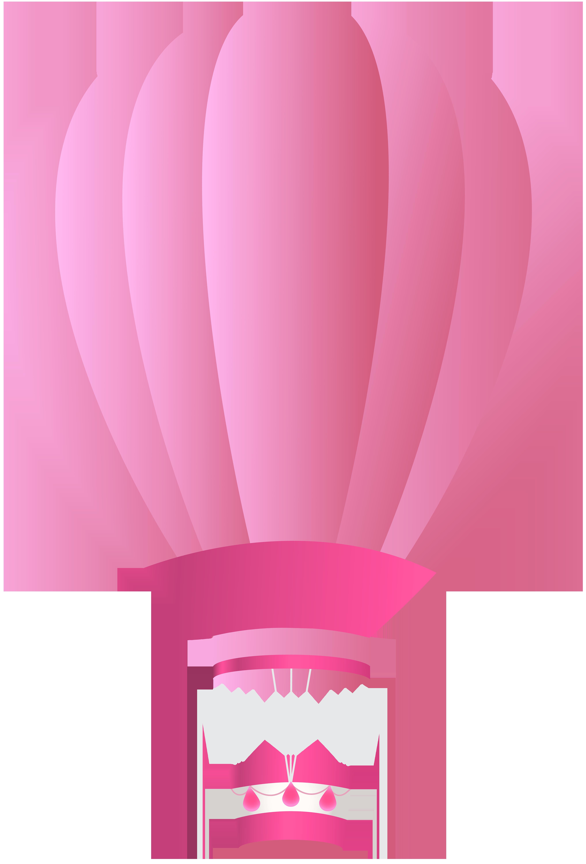Pink air clip art. Clipart plane balloon