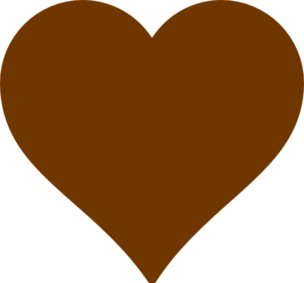 Brown hearts clip art. Olaf clipart heart