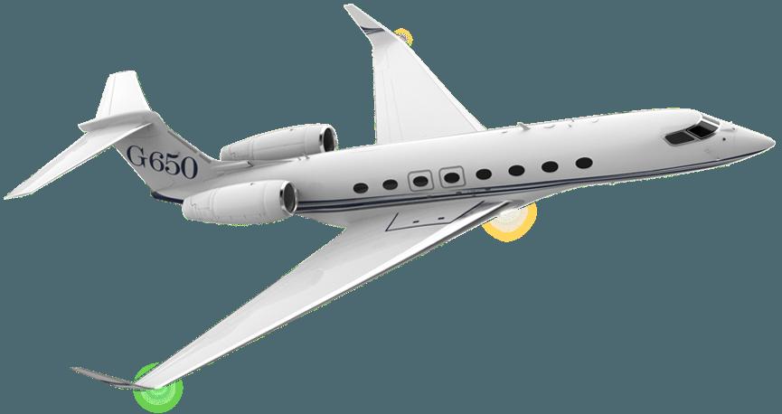 Plane business jet