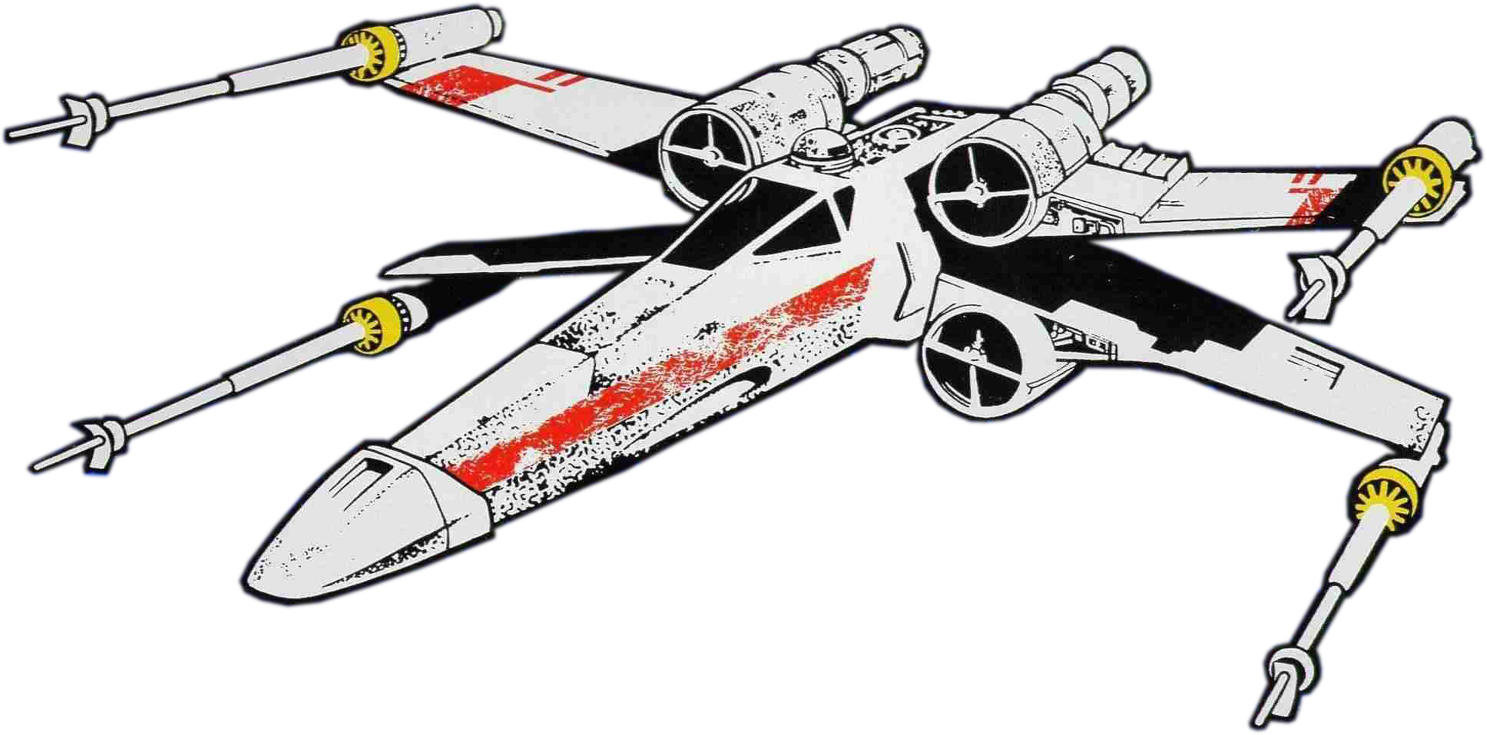 collection of x. Spaceship clipart fighter