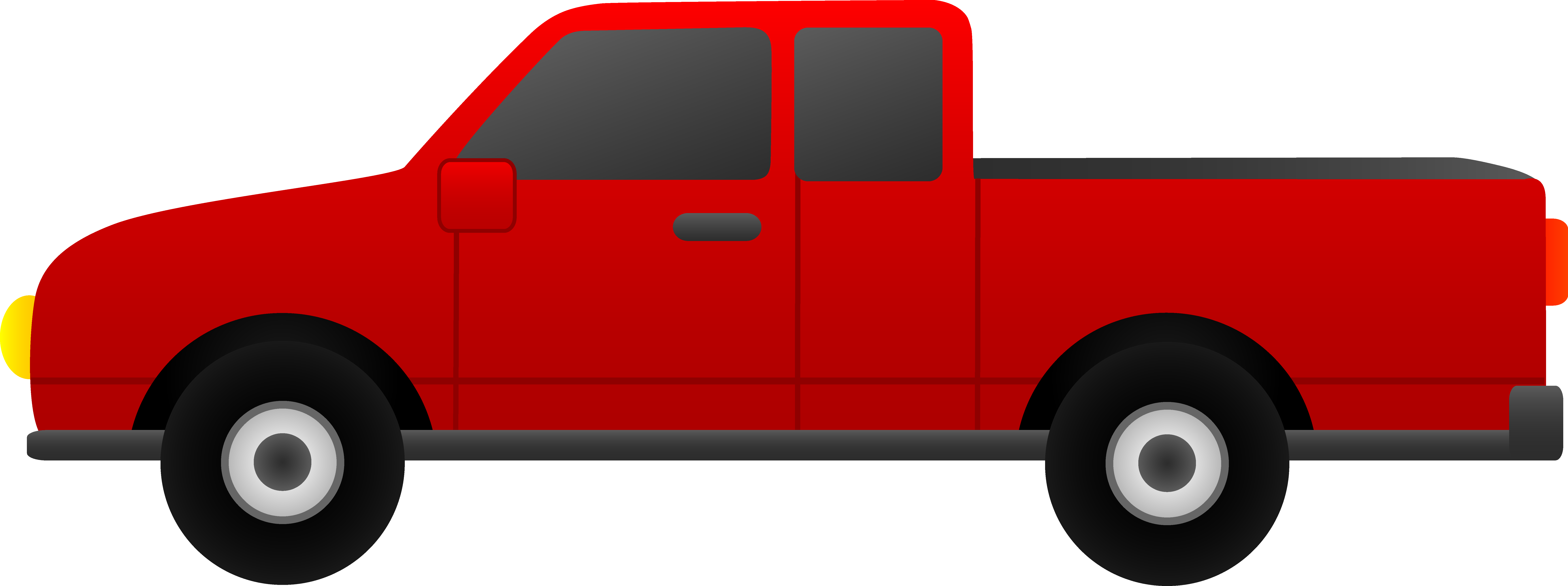 Vehicle truck pencil and. Minivan clipart red suv