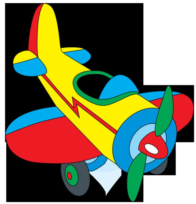 Cartoon Airplane Clipart Free
