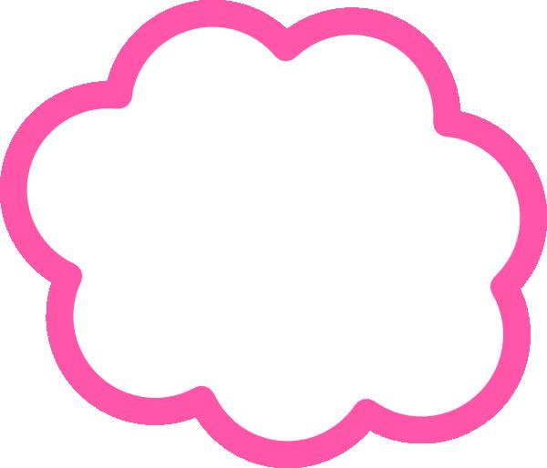 Cloud border png. Pink clip art at