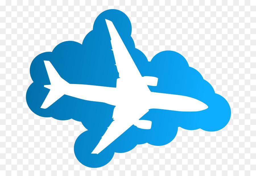 Plane clipart cloud. Symbol airplane sky transparent