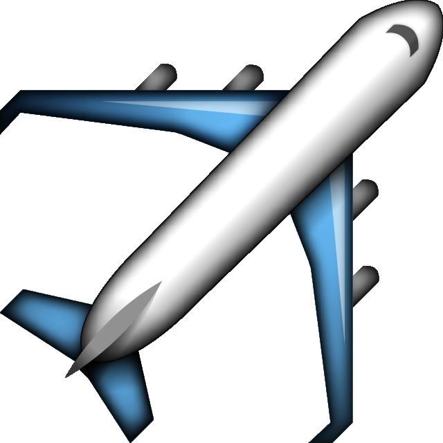 Emoji clipart plane. Download airplane icon island